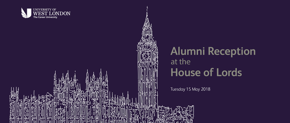 House of Lords Reception 2018 UWL